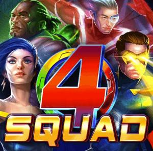4Squad logo achtergrond