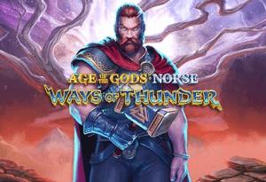 Age Of The Gods: Norse Ways Of Thunder logo achtergrond