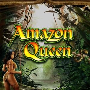 Amazon Queen logo achtergrond