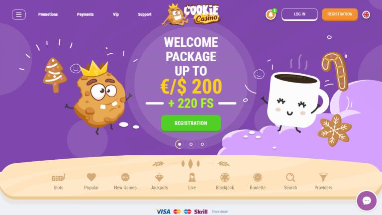 Cookie Casino Screenshot 1