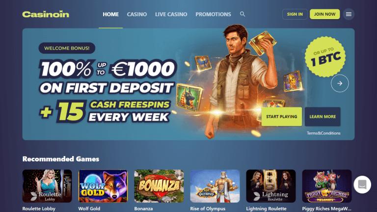 Casinoin Screenshot 1