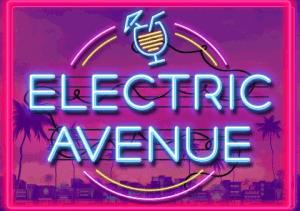 Electric Avenue logo achtergrond