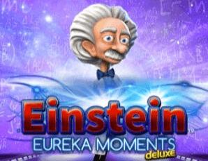 Einstein Eureka Moments logo achtergrond