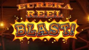 Eureka Reel Blast logo achtergrond