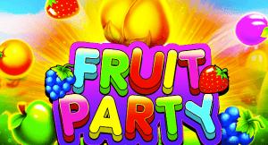 Fruit Party logo achtergrond