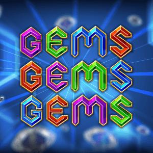 Gems Gems Gems logo achtergrond