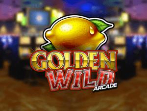 Golden Wild Arcade logo achtergrond