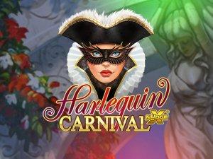 Harlequin Carnival logo achtergrond