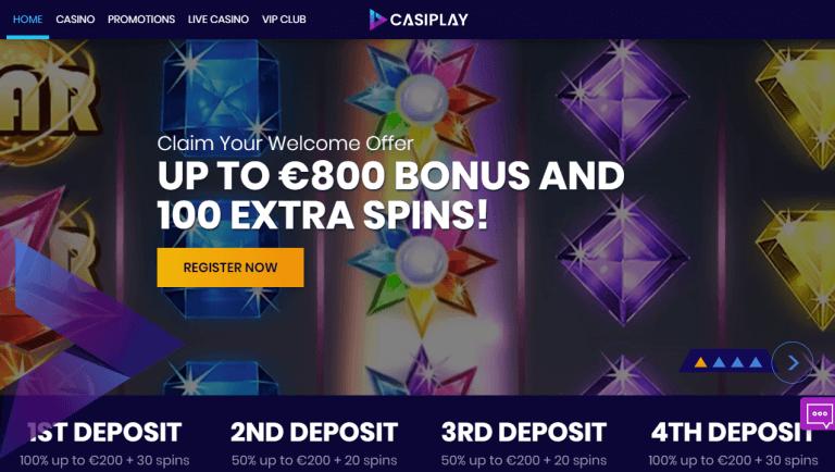 Casiplay Casino Screenshot 1