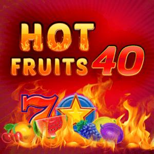 Hot Fruits 40 logo achtergrond
