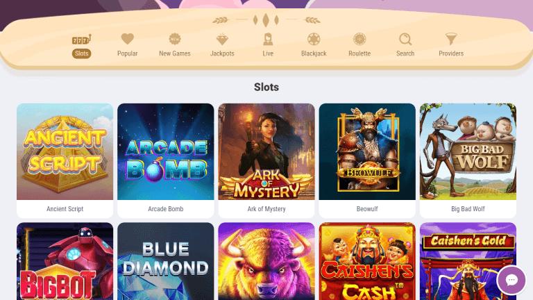 Cookie Casino Screenshot 2