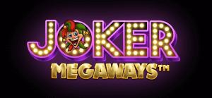 Joker Megaways logo achtergrond