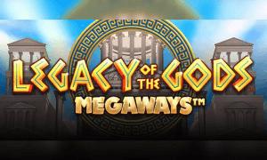 Legacy Of The Gods Megaways logo achtergrond