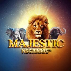 Majestic Megaways logo achtergrond