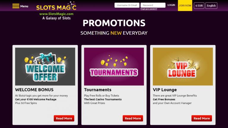 SlotsMagic Casino Screenshot 3