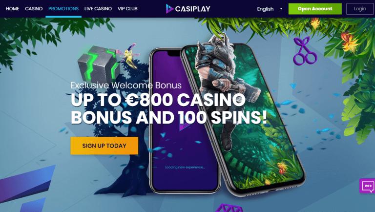 Casiplay Casino Screenshot 3