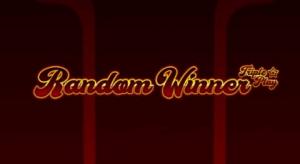 Random Winner Triple Play logo achtergrond