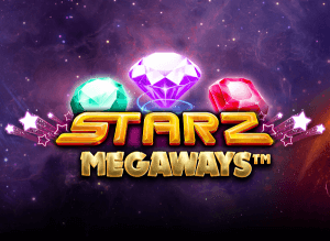 Starz Megaways logo review