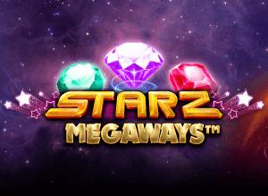 Starz Megaways logo achtergrond