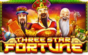Three Star Fortune logo achtergrond