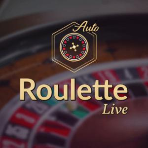 Auto Roulette logo achtergrond