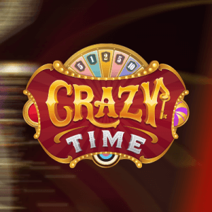 Crazy Time logo achtergrond