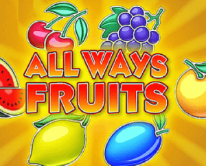 All Ways Fruits logo achtergrond