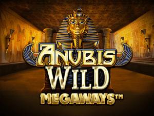 Anubis Wild Megaways logo achtergrond