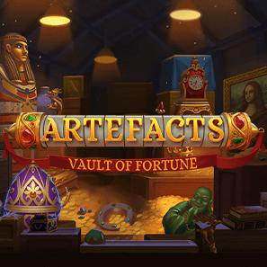Artefacts: Vault Of Fortune logo achtergrond