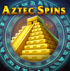 Aztec Spins logo achtergrond