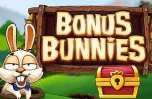 Bonus Bunnies logo achtergrond
