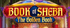 Book Of Sheba logo achtergrond