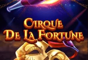 Cirque De La Fortune logo achtergrond
