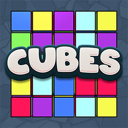 Cubes side logo review