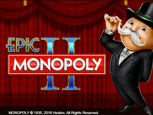 Epic Monopoly 2 logo achtergrond