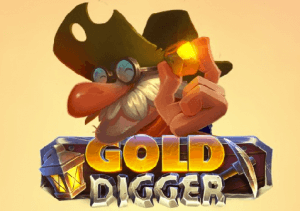 Gold Digger logo review