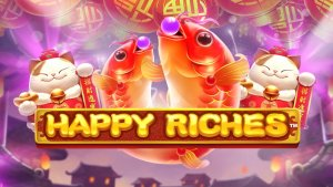 Happy Riches side logo review