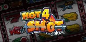Hot4Shot Deluxe logo achtergrond