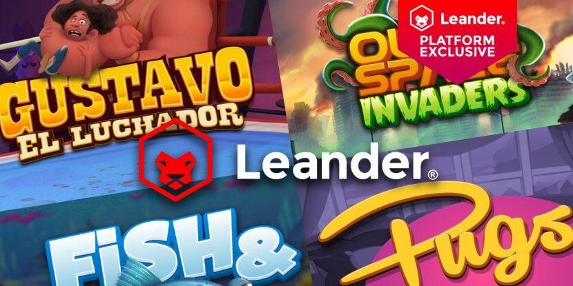 Leander Games beschikbaar op SuprNation casino's