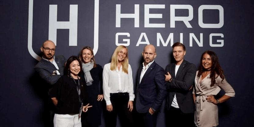 Hero Gaming en Leander Games slaan handen ineen