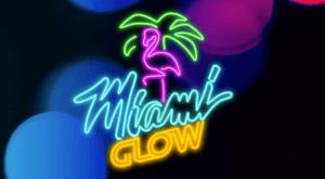 Miami Glow logo achtergrond