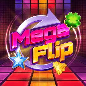 Mega Flip logo achtergrond
