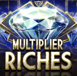 Multiplier Riches logo achtergrond