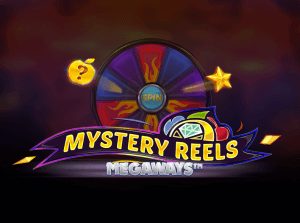Mystery Reels Megaways logo achtergrond