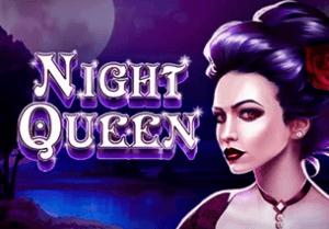 Night Queen logo achtergrond