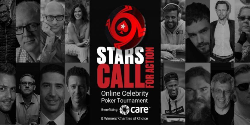 PokerStars nodigt sterren uit voor charity event