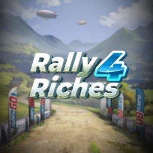 Rally 4 Riches logo achtergrond