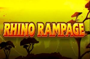 Rhino Rampage logo achtergrond