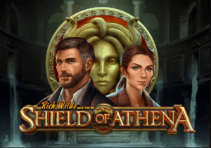 Rich Wilde and the Shield of Athena logo achtergrond