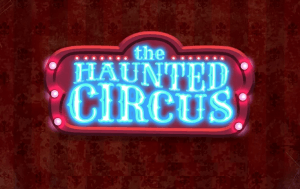 The Haunted Circus logo achtergrond